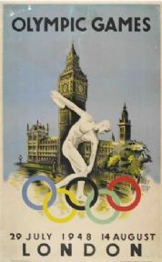 Olympic Games 1948, London poster